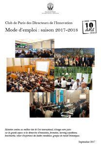 Mode d'emploi et programme 2018